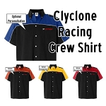 NASA Racing Logo Cyclone Racing Crew Shirt
