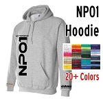 NASA NP01 Prototype Series Racing Logo Heavy Blend Hoodie